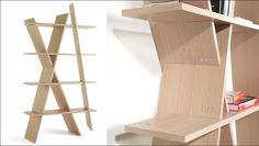 flat pack bookshelves