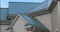 House Colors With Green Roof Metal Roofing Projects To