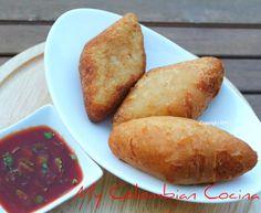 Carimañolas de Carne or Beef-Cassava Pastries
