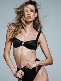 Behati Prinsloo in Jacquie Aiche Jewelry fall-winter 2015 campaign Photoshoot