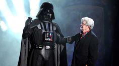 """George Lucas hat es getan: Er hat """"Star Wars: Episode VII - Das Erwachen der Macht"""" gesehen und ist überzeugt vom Film. ©musicexpress.de"""