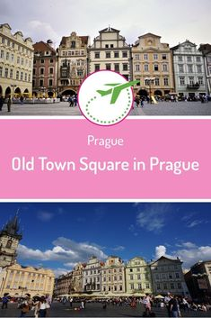The Old Town Square in Prague is centrally located in Old Town Square. The square offers many beautiful buildings: the Tyn Cathedral, the Kinský Palace. Backpacking Europe, Bucket List Europe, Prague Old Town, Destinations, Old Town Square, Horse Drawn, Town Hall, Beautiful Buildings, Street Artists
