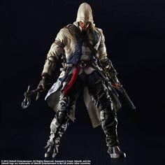 Play Arts Kai Assassin's Creed III Connor