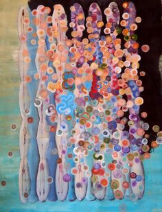 "Saatchi Online Artist: Greg Rivera; Acrylic 2013 Painting ""La Familia"""