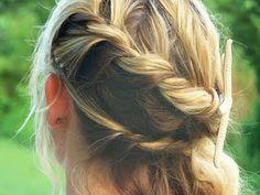 two strand twist braid  by laura powell