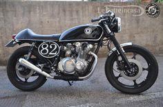 CAFE' RACER CULTURE: Le Fatteincasa : Suzuki gs 500 cafe Sergio Vitale