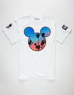 NEFF Disney Collection Palms Mickey Prime Mens T-Shirt 269506150 | Graphic Tees