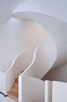 Stunning Staircase by PIERRE YOVANOVITCH.