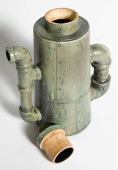steampunk ceramics | Ceramic 'Steampunk' Coffee Pots image 2