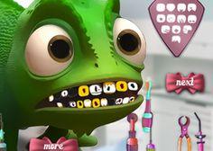 Juegos Dentistas.com - Juego: Camaleón Pascal - Jugar Juegos Gratis Online