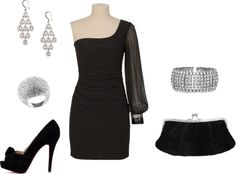 """New Year's Eve Outfit"" by lifeaccordingtomariad on Polyvore"
