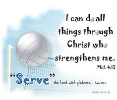 Really cool verses put in volleyball form:) Volleyball Memes, Volleyball Drills, Volleyball Gifts, Coaching Volleyball, Volleyball Players, Volleyball Motivation, Volleyball Party, Volleyball Outfits, Cheerleading
