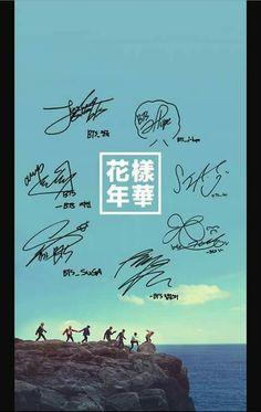 #BTS #signatures