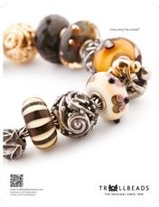 Love the rich colors on this set of Trollbeads!