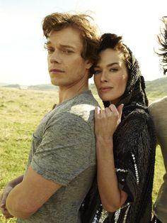 Rolling Stone Style: Game Of Thrones Edition (3-15-2012) - lena-headey & alfie allen photo