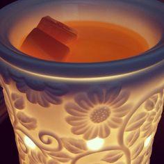 flower vine warmer ♥ #scentsy Like me on Facebook: Scentsy by Molly Wabel & visit my website: https://mollywabel.scentsy.us