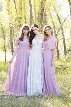 Mix and match your way to perfection with Allure Bridals Spring 2018 collections featuring classic silhouettes and stunning fabrics for your entire bridal party! #wedding #weddinginspiration #weddingdress #sponsored