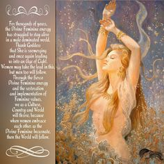 For thousands of years, the Divine Feminine energy has struggled to stay alive…