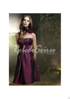 Robe de Soirée Courte-Prestige Bright A-ligne de robe de soirée AXED390