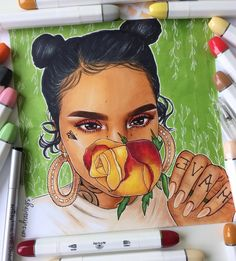 """22.9k Likes, 1,019 Comments - ✨Emilia✨ (@emzdrawings) on Instagram: """"✨ @kehlani ✨ // Please help me tag Kehlani and tell me what you guys think!✨"""""""