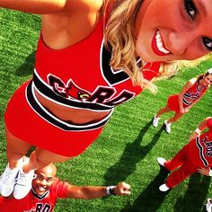 Best cheer selfie. #cheer #chearleading #stunt Check out the website to see more