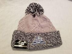 Women's New Era Pinstripe Bowl New York Beanie MLB Winter Hat One Size #NewEra