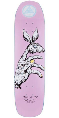 "Welcome Circus Hand On Vimana Skateboard Deck - Pink - 8.25"""