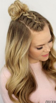 Here is Front Braids Hairstyles Collection for you. Front Braids Hairstyles zf braids hairstyles braids for long hair Single Braids Hairstyles, Cool Braid Hairstyles, Teen Hairstyles, Trending Hairstyles, Hairstyle Ideas, Simple Hairstyles, Braided Front Hairstyles, Easy Hairstyle, Summer Hairstyles