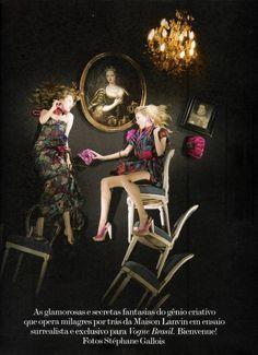 Madisyn Ritland and Elsa Sylvan - Vogue Brasil December 2009