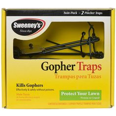 Sweeney's Gopher Trap - 2 Pack