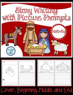 Let your students have some story writing fun for Christmas. They can complete their own storybook with the help of some Nativity themed picture prompts.
