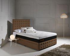 Dormeo Octaspring Matras : Dormeo octaspring venice fabric divan bed with 8500 mattress