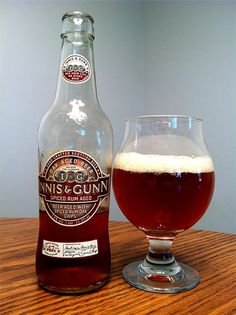 Innis & Gunn Spiced Rum Aged Ale.....A change of pace from the Bourbon Oak aged beers #Beer