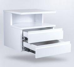 biała szafka wisząca