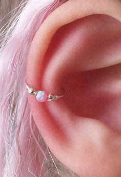 Conch earring Conch piercing Conch hoop Conch piercing