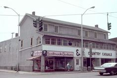 The old Union Hotel (Westbrooks) corner of Main St & Exchange St in Union.
