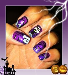 Halloween  by jsi1973 from Nail Art Gallery