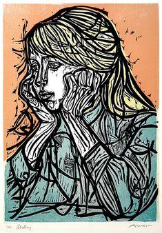 POUL WEBB ART BLOG: Irving Amen – woodcuts