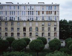 La Tourette housing in Marseilles by Fernand Pouillon Photography : Helen Binet