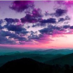sky, purple, and clouds image Beautiful Sunset, Beautiful World, Beautiful Places, All Nature, Amazing Nature, Pretty Pictures, Cool Photos, Landscape Photography, Nature Photography