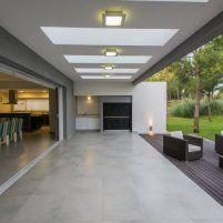 Continuidad con el parque - Casas - EspacioyConfort - Arquitectura y decoración