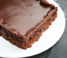 """The Best (Texas) Chocolate Sheet Cake - Pioneer Woman Recipe: so calling anything """"The Best Ever!"""" makes me a little skeptical to start out but this was a very delicious and moist cake. I actually replaced my old sheet cake recipe with this one however I believe that their may be better recipes out there but this is the one to beat in my book for now."""