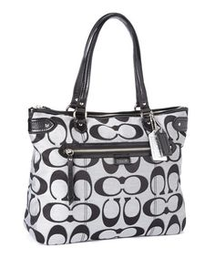 Black Daisy Moonlight Signature Emma Tote -- I own this lovely bag