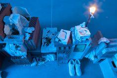 "Candice Lin at Portikus ""A Hard White Body, A Soft White Worm"" White Worms, White Bodies, Contemporary Art, Google Search, Glass, Drinkware, Contemporary Artwork, Modern Art, Glas"