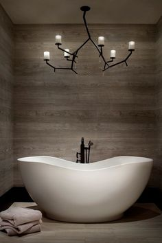 """Contemporary Master Bathroom with Wood floors, Barclay raven 67"""" acrylic oval freestanding modern tub white, Master bathroom"""