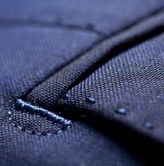 """'D' BAR TAGS: """"You will find 'D' bar tags on all pockets of the suit.The bar adds extra reinforcement to the pocket to prevent tears. The half-moon (the D-tag) is a purely decorative, luxury detail."""" The full page has a number of bespoke suit details. Tailoring Techniques, Techniques Couture, Sewing Techniques, Sewing Hacks, Sewing Tutorials, Sewing Patterns, Bespoke Suit, Bespoke Tailoring, Sewing Pockets"""
