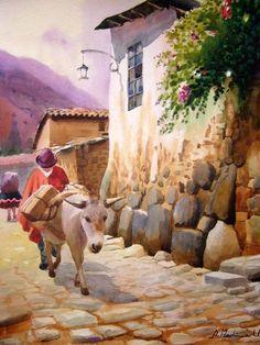 pinturas costumbristas norte de peru - Google Search