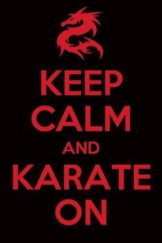 Karate on...