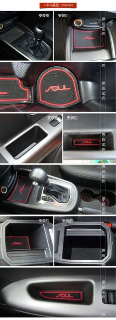 2016 Wholesale 2010 2015 Kia Soul Silicone Glow Gate Slot Pad,Teacup Pad,Non Slip Pad Fit Car Accessories From Atuomoto, $18.58 | Dhgate.Com