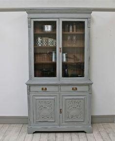Distressed Victorian Glazed Dresser. - For Sale | Distressed But Not Forsaken